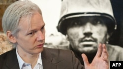 Julian Assange, the founder of the WikiLeaks website