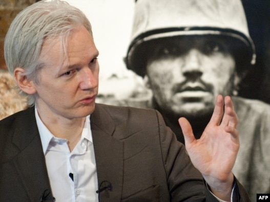 Founder of whistleblowing website, 'WikiLeaks', Julian Assange