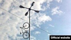 Bike to Heaven. Велосипедная лестница в небо