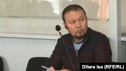 Белсенді Руслан Жанпейісов. Шымкент, 13 қаңтар 2020 жыл.