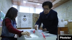 Voting has begun in Armenia. The My Step alliance is the big favorite to win the December 9 vote.