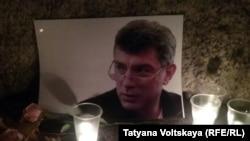 Акция памяти Бориса Немцова в Петербурге