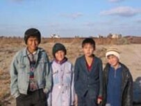 A UNICEF photo from 2003 shows young boys in Karakalpakstan