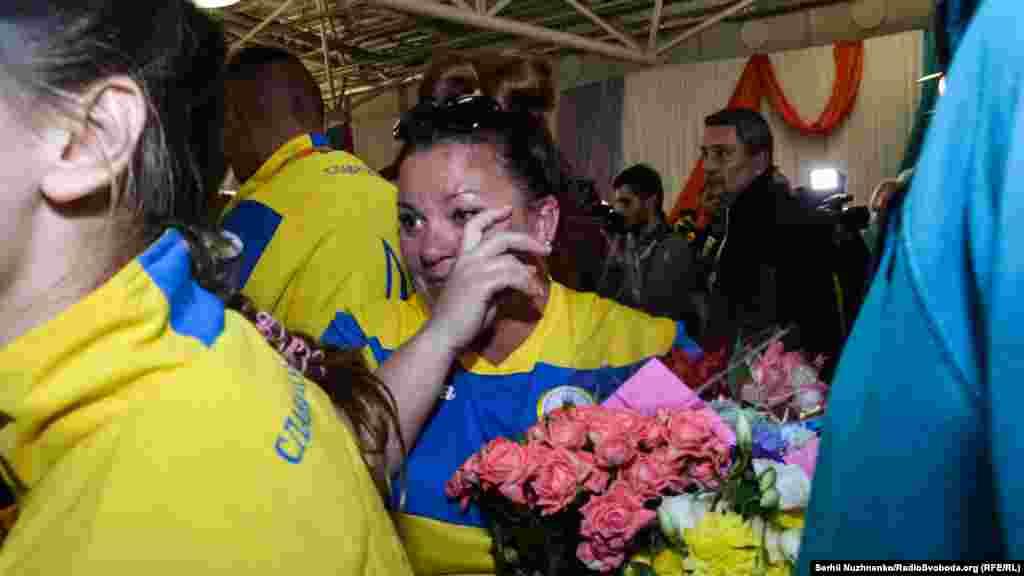 Трогательное возвращение в Украину