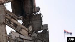 Ish selia qendrore e forcave ushtarake në Beograd, e shkatërruar gjatë fushatës ajrore të NATO-s