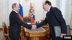 Рамазан Абдулатипов на приеме у президента Владимира Путина