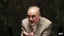 """When Rohani learned about the details of the talks, he couldn't believe it,"" says Ali Akbar Salehi (pictured), Iran's head of its Atomic Energy Organization."