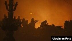 Постріли по демонстрантах на Майдані, 19 лютого 2014 року