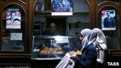 Пекарня в старом городе Дамаска. Октябрь 2015
