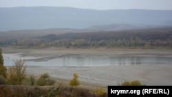Білогірське водосховище, 22 жовтня 2017 року