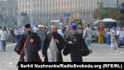 Хресна хода УПЦ (МП) у Києві. Як це було (фотогалерея)