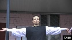 Илья Фарбер 10 января после выхода из СИЗО