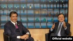 Саакашвили и Баррозу участвовали на мероприятиях, проводимых по случаю Дней европейского развития в Варшаве