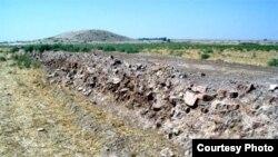 ايوان کرخه، کامل ترين و بزرگترين شهر مدفون شده ساسانی است.