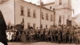Юзэф Пілсудзкі ў Менску, 19.09.1919