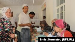 Избирательный участок №5266 в Кара-Суу