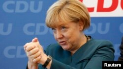 Ангела Меркель после выборов. 23 сентября 2013 г.
