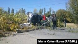 Кыргызстандагы башаламандык токтобосо Сомалинин кейпин киери айтылууда. Саруу, 8-октябрь, 2013-жыл