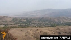 Armenia - A general view of Paravakar village, 1Oct2015.