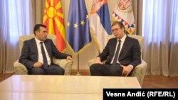 Иницијатор на разговорите за формираше Мал шенген е српскиот претседател Александар Вучиќ.