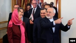 Mohamad Javad Zarif və Federica Mogherini