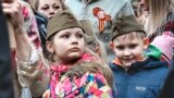 Діти на російському Дні перемоги в Сімферополі, 9 травня 2019 року. Ілюстративне фото