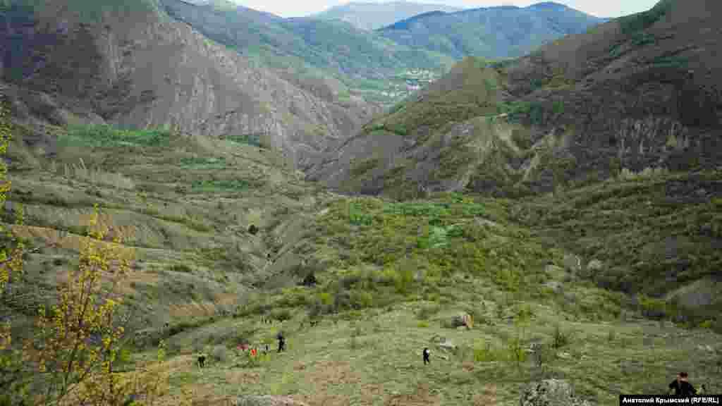 Спуск по стежці Арпат-Куроча