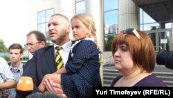 Девочка Гера - дочь Надежды Толоконниковой