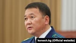 Генпрокурор Откурбек Джамшитов.