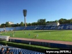 Стадион «Локомотив», Симферополь, фото до реконструкции