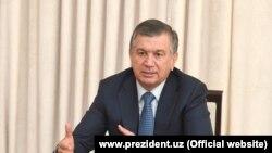 Özbegistanyň prezidenti Şawkat Mirziýoýew