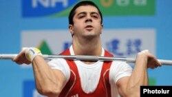 Ağırqaldırma üzrə Avropa çümpionu Tigran Martirosyan, 2010