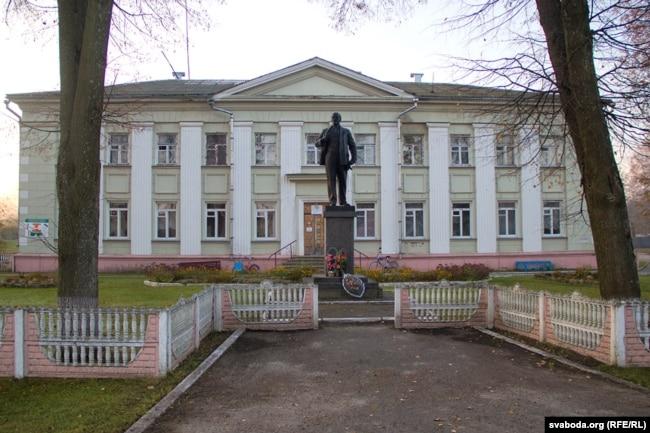 Здание Богушевской районной больницы