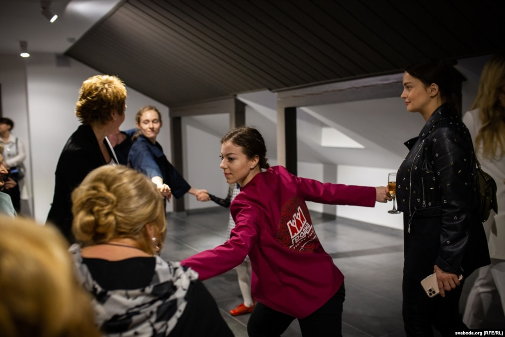 Во время мероприятия в интерактивный движение приглашали посетителей
