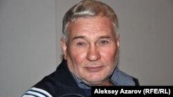 Георгий Трякин-Бухаров – один из основателей казахского поп-арта. Алматы, 9 октября 2011 года.