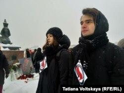 Акція пам'яті Бабурової і Маркелова у російському Санкт-Петербурзі, Росія, 19 січня 2019 року