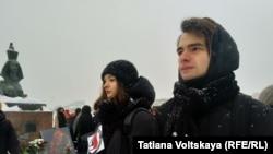 Участники акции в Петербурге