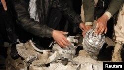 مجتمع بابالعزیزیه در طرابلس، پس از یکی از حملات هوایی اخیر.