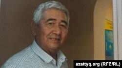 Гражданский активист из города Шымкента Жаркынбек Сейтинбек.