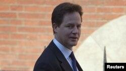 Zëvendëskryeministri britanik, Nick Clegg (ARKIV)