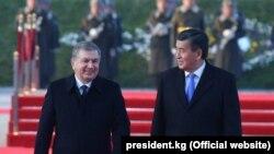 Визит президента Жээнбекова в Ташкент