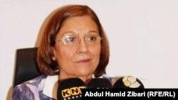 بخشان زنكنه الامينة العامة للمجلس الاعلى للمرأة في كردستان