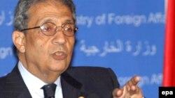 Еден од водечките кандидати за претседател на Египет, Амр Муса.