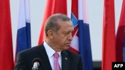 Хорватия -- Президент Турции Реджеп Эрдоган, Загреб, 26 апреля 2016 г.