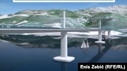 Vizuelno rješenje Pelješkog mosta