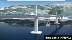 Budući izgled Pelješkog mosta