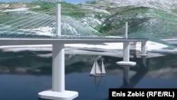 Hrvatska prihvatila zahtjeve bh. strane i podigla visinu mosta sa 35 na 55 metara