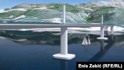 Rješenje za Hrvatsku, problem za BiH: Vizuelni izgled Pelješkog mosta