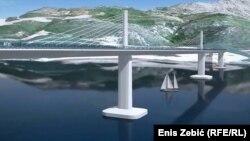 Projekt Pelješkog mosta