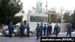 Отделение полиции, Туркменистана.